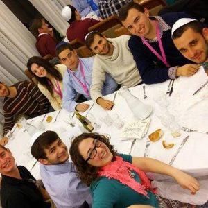 Lee-Mamolen-at-Shabbat-dinner-cropped